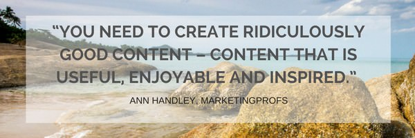 Ridiculously good content marketing framework