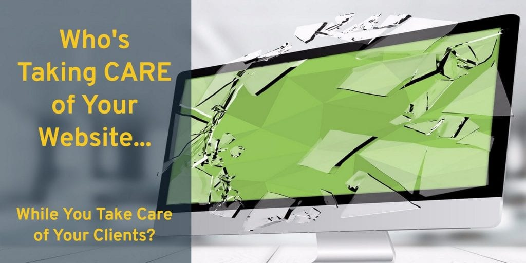 Taking Care of Your Website