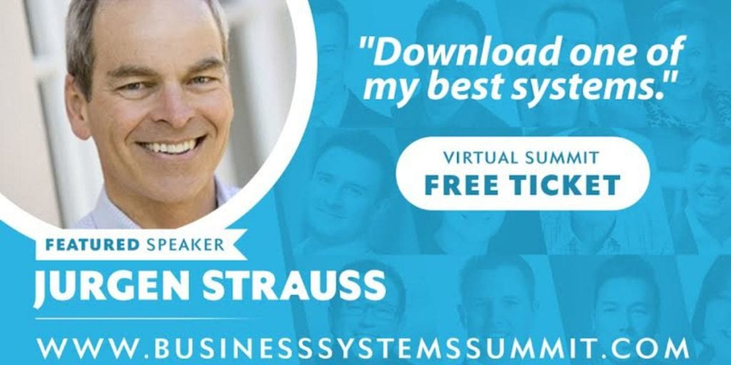 Jürgen Strauss on the Business Systems Summit